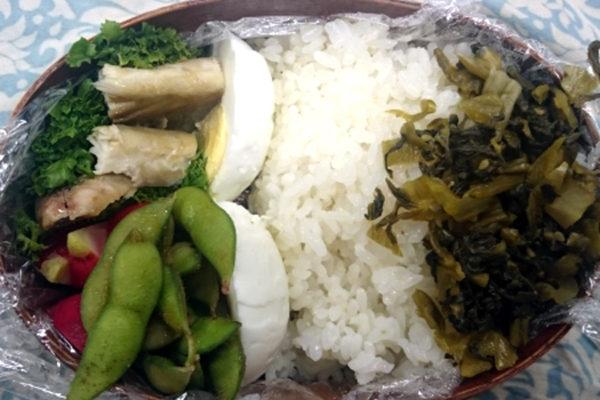 【AGE制限中】お弁当に入れた塩サバのAGE値